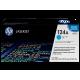 Заправка картриджа HP 124A Q6001A голубой
