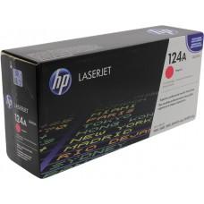 Заправка картриджа HP 124A Q6003A пурпурный