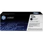 Картридж 12A Q2612A Hewlett-Packard черный (Black) оригинальный