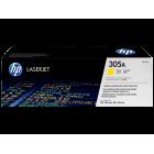Заправка картриджа HP 305Y CE412A Yellow
