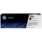 Заправка картриджа HP 36A CB436A