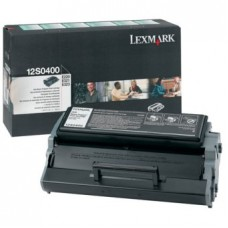 Картридж Lexmark 12S0400 черный (Black) оригинальный для лазерных принтеров