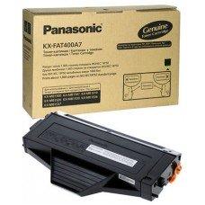 Тонер-картридж Panasonic KX-FAT400A черный (Black) оригинальный для лазерных принтеров