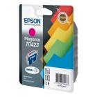 Картридж T0423 (C13T04234010) Epson пурпурный (Magenta) оригинальный