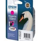 Картридж T0813 (C13T11134A10) увеличенный Epson пурпурный (Magenta) оригинальный