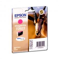 Картридж Epson T0923 (C13T10834A10) красный струйный оригинальный