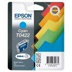 Картридж T0422 (C13T04224010) Epson голубой (Cyan) оригинальный