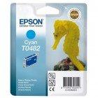 Картридж T0482 (C13T04824010) Epson голубой (Cyan) оригинальный
