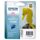 Картридж T0486 (C13T04864010) Epson светло-пурпурный (Light magenta) оригинальный
