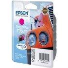 Картридж T0633 (C13T06334A10) Epson пурпурный (Magenta) оригинальный