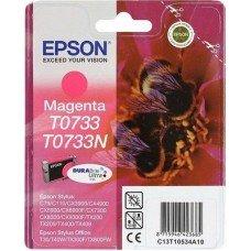 Картридж Epson T0733 (C13T10534A10) красный струйный оригинальный