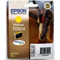 Картридж Epson T0924 (C13T10844A10) желтый струйный оригинальный