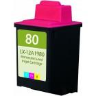 Lexmark №80 (12A1980) цветной