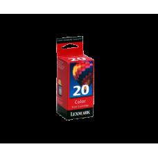 Картридж Lexmark №20 (15MX0120) Цветной струйный оригинальный