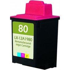 Картридж Lexmark №80 (12A1980) цветной струйный оригинальный