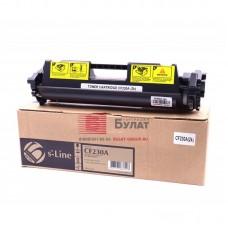 Тонер-картридж Булат S-Line 30A CF230A черный совместимый для лазерных принтеров HP, без чипа, 1.6K